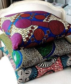 african wax pillows