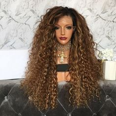 Cheap Human Hair Lace Wigs, Buy Directly from China Suppliers:Ombre Two Tone Density Full Lace Human Hair Wigs for Black Women Remy Hair Dark Roots Kinky Curly Lace Wig Qearl Hair Cheap Human Hair, Human Hair Lace Wigs, Long Curls, Full Hair, Wigs For Black Women, Blonde Ombre, Remy Hair, Dark Hair, Lace Front Wigs