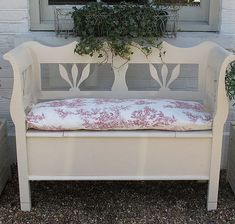 porch bench from Ruby & Bettys Attic
