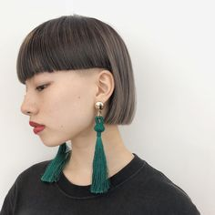 Very Short Hair, Short Hair With Bangs, Short Hair Cuts, Short Bob Hairstyles, Hairstyles With Bangs, Mullet Hairstyle, Japanese Hairstyle, How To Make Hair, Hair Today