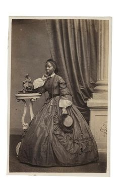 Hidden histories: the first black people photographed in Britain – in pictures-Sara Forbes Bonetta was captured aged five by slave raiders in west Africa, rescued by Captain Frederick E Forbes, then presented as a 'gift' to Queen Victoria. Photograph: Courtesy of Paul Frecker collection/The Library of Nineteenth-Century Photography.