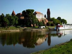 Tangermünde ~ Castle and the river Elbe Germany