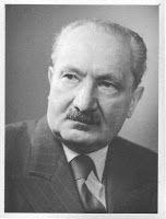 Grafologie a Psychologie: Martin Heidegger
