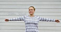 Isotaskuinen pisaratunika - a raindrop tunic Button Down Shirt, Men Casual, Tunic, Mens Tops, Shirts, Fashion, Moda, Dress Shirt, Tunics