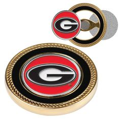 Georgia Bulldogs-Challenge Coin / 2 Ball Markers