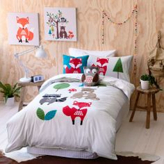 Quilt Covers & Coverlets Forest Friends Bedroom
