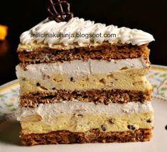 Apple Recipes, Sweet Recipes, Baking Recipes, Cookie Recipes, Dessert Cake Recipes, Sweet Desserts, Torta Recipe, Sugar Free Baking, Kolaci I Torte