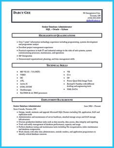 Sample Resume For Oracle Dba Awesome Create Your Astonishing Business Analyst Resume And Gain The .