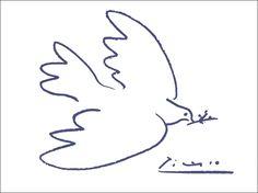 PICASSO  Dove of peace