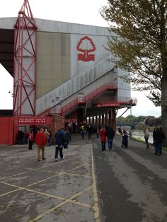 "See 271 photos and 23 tips from 1176 visitors to The City Ground. ""Nice stadium, nice facilities for visiting club staff. Nottingham Forest Football Club, Nottingham Forest Fc, English Football Stadiums, Football Fans, Nostalgic Pictures, Scrapbooks, Britain, Terrace, Past"