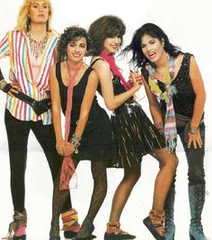 7. Favorite 80s rock star or band, The Bangles  #KickinItAppleCheeks