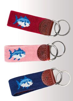 Southern Tide Needlepoint Key Fob!