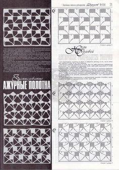 openwork crochet pattern