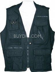Humvee Clothing Safari Vest - Black 51886b702eac