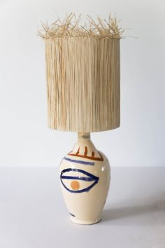 15 statement lamps that are functional art, adding creative personality and character to any living room, hallway, desk, sideboard or bedside table. Deco Luminaire, Appartement Design, Handmade Lamps, Crackle Glass, Ceramic Table Lamps, Lamp Bases, Table Lamp Base, Bedside Table Lamps, Glazed Ceramic