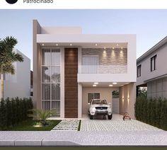 House Outer Design, House Arch Design, Architect Design House, Two Story House Design, Minimal House Design, 2 Storey House Design, House Outside Design, Small House Interior Design, Modern Exterior House Designs