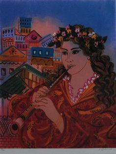 .:. Σταθόπουλος Γεώργιος – Georgios Stathopoulos [1944] Painter Artist, Artist Painting, Greece Painting, Popular Art, Greek Art, Artist Names, Female Art, Sculpture, Fine Art