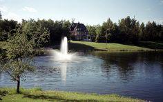 Beautiful Bower Ponds, Waskasoo Park, Red Deer, Alberta, Canada |