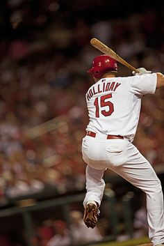 Matt Holliday in 09- great pic  <3