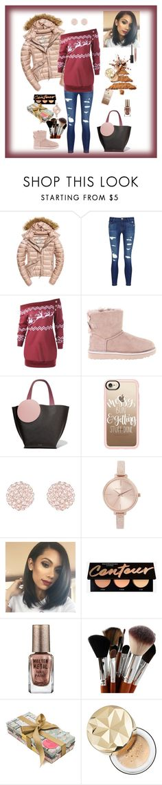 """Winter set"" by keisznikolett ❤ liked on Polyvore featuring Fuji, J Brand, UGG, Roksanda, Casetify, Michael Kors, Barry M, Arthouse Meath, Bare Escentuals and Burberry"