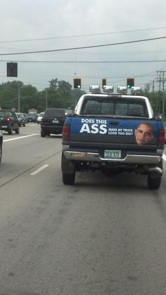 Who says conservatives don't have a sense a humor?  Seen on the streets of Toledo, OH.