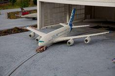 Legoland Günzburg: A plane (almost) in hangare