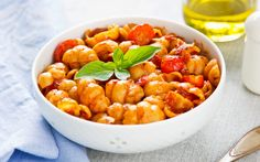 Gnocchi Mafiosi Meal type: Dinner Main ingredient: Potatoes Restrictions: none Prep time: Total time: Serving: 6 Gnocchi, Come Dine With Me, Tomato Pasta Sauce, Tinned Tomatoes, Main Meals, Fruit Salad, Vegan Vegetarian, Cooking Recipes, Favorite Recipes