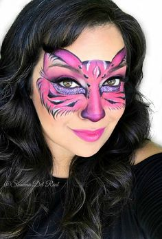 Shawna D. Make-up: Pink kitty face painting mask Shawna D. Make-up: Pink kitty face painting mask Cheshire Cat Face Paint, Kitty Face Paint, Chesire Cat, Adult Face Painting, Painting For Kids, Body Painting, Mask Painting, Animal Face Paintings, Animal Faces