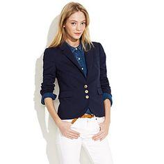academy blazer  $168.00 Item#23630  Traditional menswear details meet a cool, shrunken shape—it's the blazer you've been waiting for.