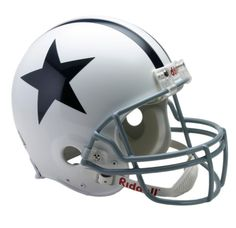 Dallas Cowboys 1960 to 1963 Authentic Full Size Throwback Helmet