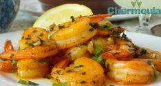 crevettes-sautees-a-la-chermoula10 Iftar, Ramadan Recipes, Ramadan Food, Tunisian Food, Turkish Recipes, Mets, Cod, Shrimp, Seafood