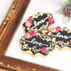 Garden wedding cookies | Cookie Connection