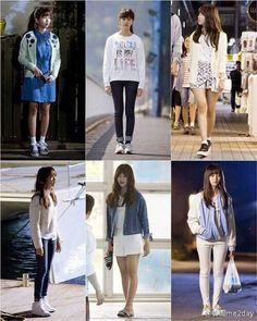 Korean Fashion – How to Dress up Korean Style – Designer Fashion Tips Korea Fashion, Asian Fashion, Look Fashion, Kpop Fashion Outfits, Korean Outfits, Kim So Hyun Fashion, Kim Sohyun, Korean Celebrities, Everyday Fashion