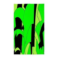 Lime Abstract Area R