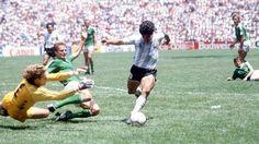 Maradona 1986 Argentina Germany
