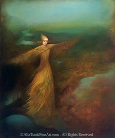Alla Tsank 'Balanced' My favorite artist. Her stuff is other worldly in the best way.