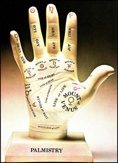 palmistry hand with bracelets of life