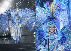 Zdjęcie numer 11 w galerii - Miss Universe. Stroje narodowe kandydatek to DZIEŁA SZTUKI. Największy szok? Miss Hiszpanii. Przebrała się za...