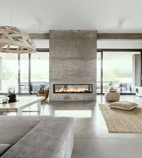 Vita Fireplaces Built-In/Wall Mounted | Custom Fireplace Design