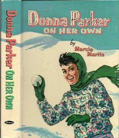 Donna Parker Books - my first Donna Parker book.