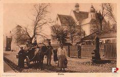 Biała Podlaska, ok. 1917 r. Kościół św. Anny, obecna ul. Warszawska.