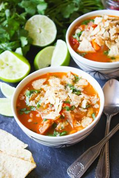 Chick'n Tortilla Soup #MeatlessMonday #vegan #cincodemayo