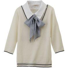 キュートなアトマイザーでお気に入りの香りを持ち歩き☆<ブラウングレー> ❤ liked on Polyvore featuring tops, blouses, shirts, sweaters, shirt blouse and shirt tops