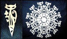 08.12.15 Вы любите вырезать снежинки из бумаги? Мы предлагаем вам красивые и оригинальные схемы для вырезания снежинок (схемы можно скачать и распечатать)