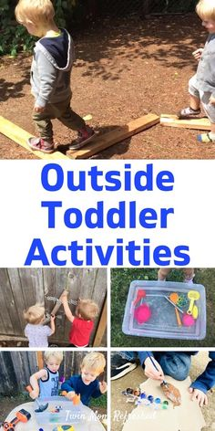 30 Outdoor Toddler Play Activities