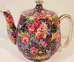 Royal Winton Grimwades breakfast teapot, which displays the very popular and sought after Hazel pattern
