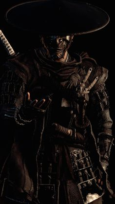 Oni Samurai, Samurai Warrior Tattoo, For Honor Armor, Guerrero Ninja, Bloodborne Art, Japon Tokyo, Samurai Artwork, Ninja Art, Anime Characters