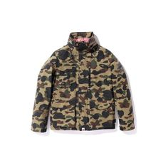 Bape Gore-Tex Camouflage Jacket Fall/Winter 2010 ❤ liked on Polyvore featuring bape and a bathing ape