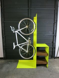 The Commuter bike rack, designed by Sarabi Studio in collaboration with Urbanspace Interiors