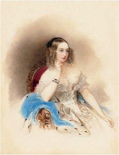 Grand Duchess Elena Pavlovna 1840 Елена Павловна, супруга Михаила Павловича, младшего брата императора Николая I